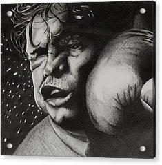 Take It Like A Man Acrylic Print by Joan Pollak