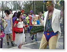 Take Me To The Mardi Gras Acrylic Print by Rdr Creative