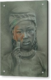 Take My Color Acrylic Print by Joanna Gates