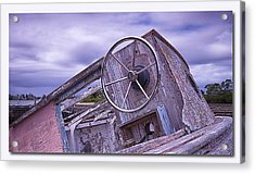 Acrylic Print featuring the digital art Take The Wheel by Kevin Chippindall