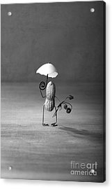 Taking A Walk 02 Acrylic Print by Nailia Schwarz