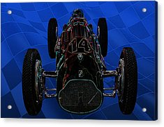Talbot Lago T26c Body 110054 Acrylic Print by Mike  Capone