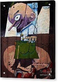 Talent Scouting Acrylic Print by Charlie Spear