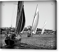 Acrylic Print featuring the photograph Tall Ship Races 2 by Pedro Cardona