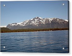 Tallac From The Lake Acrylic Print by LeeAnn McLaneGoetz McLaneGoetzStudioLLCcom