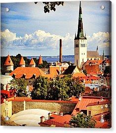 Tallinn - Estonia Acrylic Print