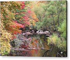 Tanasee Creek In The Fall Acrylic Print