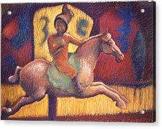 Tang Horsewoman Acrylic Print