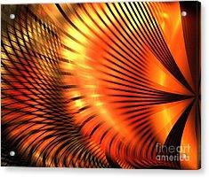 Tangerine Acrylic Print by Kim Sy Ok