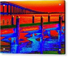 Tangerine Sound Acrylic Print