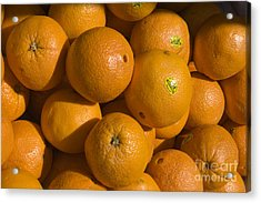 Tangerines Acrylic Print by Tim Mulina
