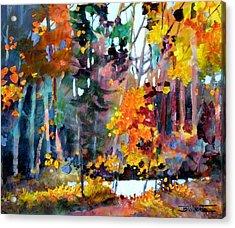 Tangled Woods Acrylic Print