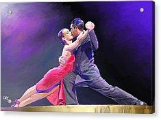 Tango Acrylic Print by Carvil