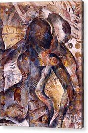 Tango Acrylic Print by Charles B Mitchell