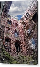 Acrylic Print featuring the photograph Tantallon Castle by Rod Jones