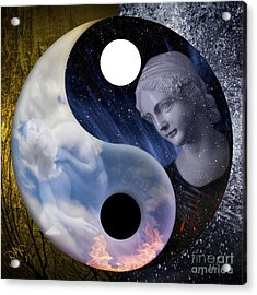 Acrylic Print featuring the digital art Taodream by Rosa Cobos