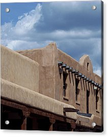 Acrylic Print featuring the photograph Taos Market by Susan Alvaro