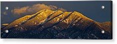 Taos Mountain Acrylic Print