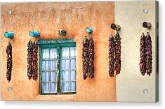 Taos Acrylic Print by Stellina Giannitsi