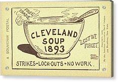 Tariff League Postcard, 1906 Acrylic Print by Granger