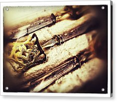 Tarnished Acrylic Print by Olivier Calas