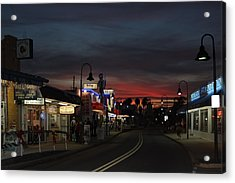 Acrylic Print featuring the photograph Tarpon Springs After Sundown by Ed Gleichman