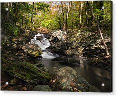 Acrylic Print featuring the photograph Tartia Engel Falls by Yelena Rozov