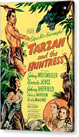 Tarzan And The Huntress, Patricia Acrylic Print by Everett