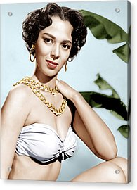 Tarzans Peril, Dorothy Dandridge, 1951 Acrylic Print by Everett