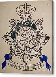Task Force Uruzgan - Crest Acrylic Print by Unknown