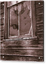 Tattered Clouds - Bodie Acrylic Print by Jan W Faul