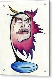 Tattered Soul Acrylic Print by Steve Weber