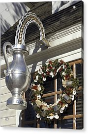 Tavern Tankard Sign Acrylic Print by Sally Weigand