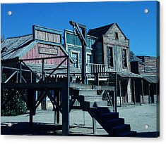 Taverna Western Village In Spain Acrylic Print by Colette V Hera  Guggenheim