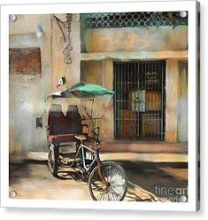 taxi built for two Cuba Acrylic Print