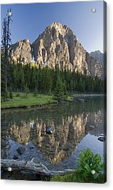 Taylor Lake, Banff National Park Acrylic Print by Philippe Widling