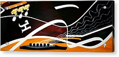 Taylors Curves... Acrylic Print by Guadalupe Herrera