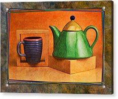 Tea  Acrylic Print by Mauro Celotti