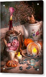 Tea Party - I Would Love To Have Some Tea  Acrylic Print by Mike Savad