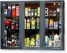 Tea Shop Acrylic Print by Robert Lacy
