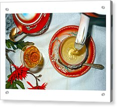 Tea Time Acrylic Print