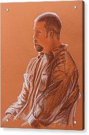 Teacher's Son Acrylic Print by Kume Bryant