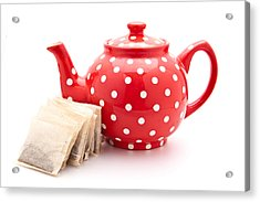 Teapot Acrylic Print by Tom Gowanlock