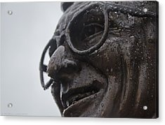 Tears Of Paterno Acrylic Print by Michael Misciagno