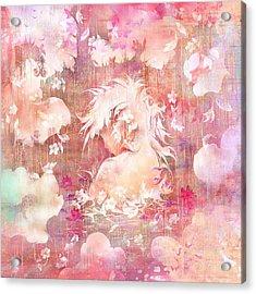 Tears Of The Rain Acrylic Print by Rachel Christine Nowicki
