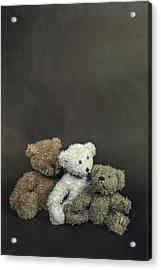 Teddy Bear Family Acrylic Print by Joana Kruse
