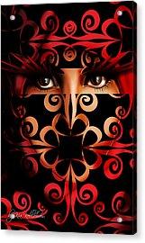 Tehran Acrylic Print by Kia Kelliebrew