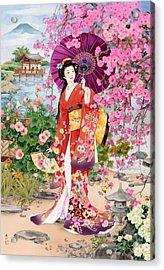 Teien Acrylic Print by Haruyo Morita