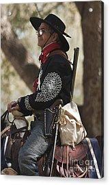 Tejano On Horseback Acrylic Print