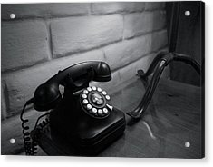 Telecommunications Acrylic Print by Dietrich Sauer